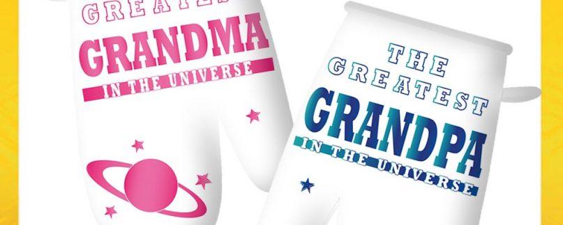 COPPIA GUANTONE NONNI GREATEST GRANDPA/MA