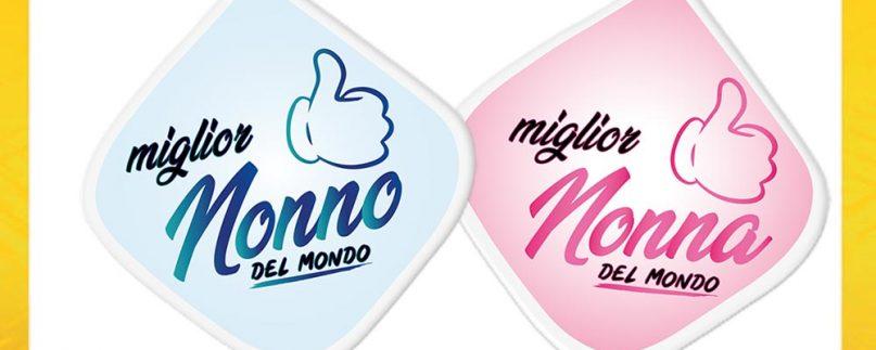 COPPIA PRESINA IL/LA MIGLIOR NONNO/A DEL MONDO