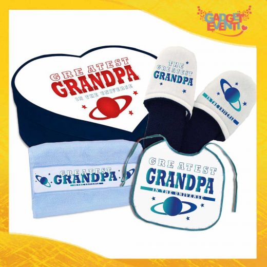 KIT GIOVANI DENTRO GREATEST GRANDPA/MA BLU