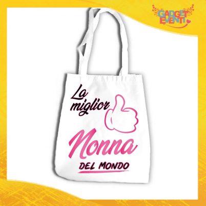 SHOPPING BAG NONNI LA MIGLIOR NONNA DEL MONDO