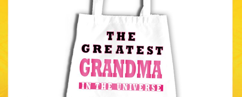 SHOPPING BAG NONNI GREATEST GRANDMA