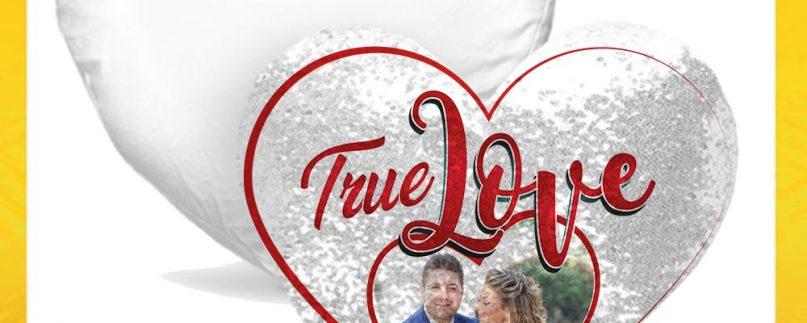 CUSCINO CUORE TRUE LOVE