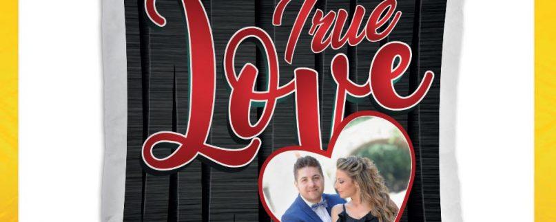 CUSCINO QUADRATO TRUE LOVE