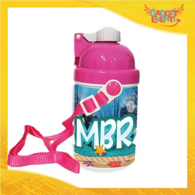 borraccia bimba personalizzabile con nome Mare