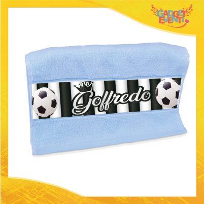 Asciugamano bimbo personalizzabile con nome Bianconero