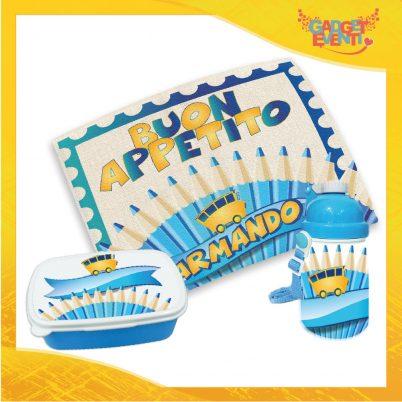 Kit Pappa bimbo personalizzato con nome Viva la Scuola