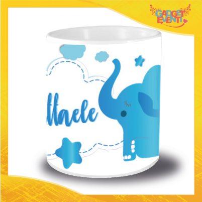 Portapenne bimbo personalizzabile con nome Elefantino