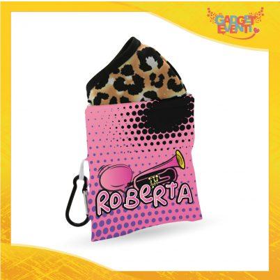 Porta mascherina bimba personalizzabile con nome Lisa