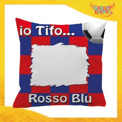 Cuscino Tifoso Personalizzabile Rosso Blu