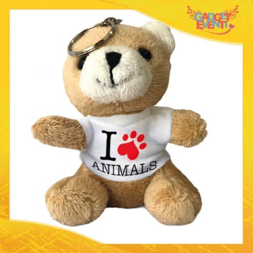 Portachiavi orso personalizzato