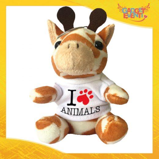 Portachiavi giraffa personalizzabile