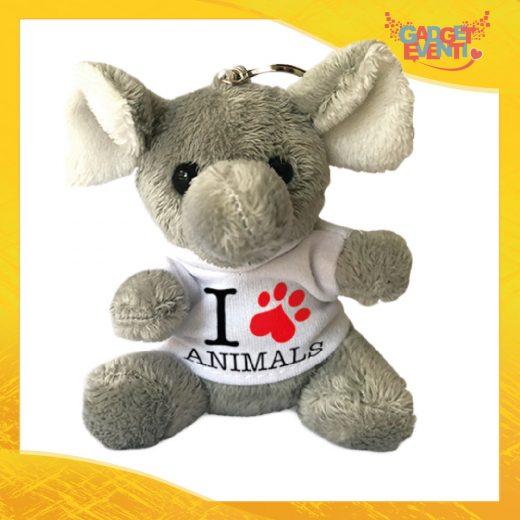 Portachiavi Elefante personalizzabile