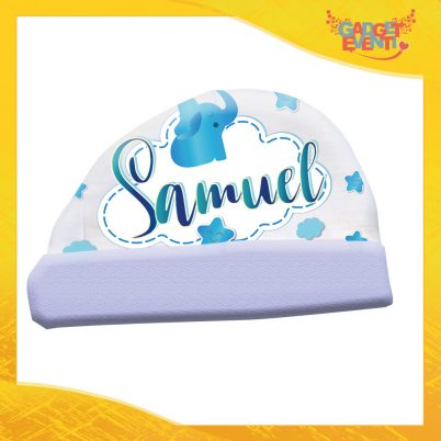 Cappellino bimbo personalizzabile con nome Elefantino