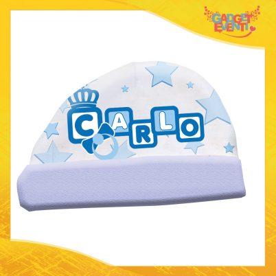 cappellino bimbo personalizzabile con nome dadini