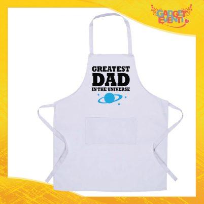 Grembiule bianco da cucina Greatest Dad