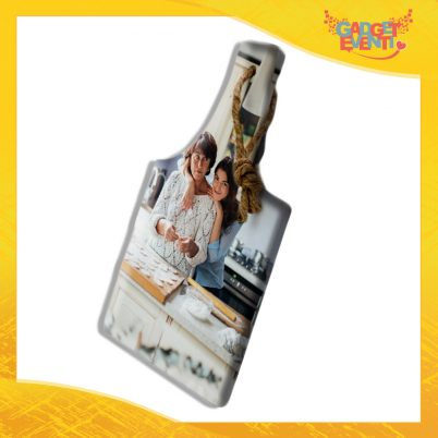 Tagliere rettangolare in ceramica Personalizzato con Testo e Foto idea regalo